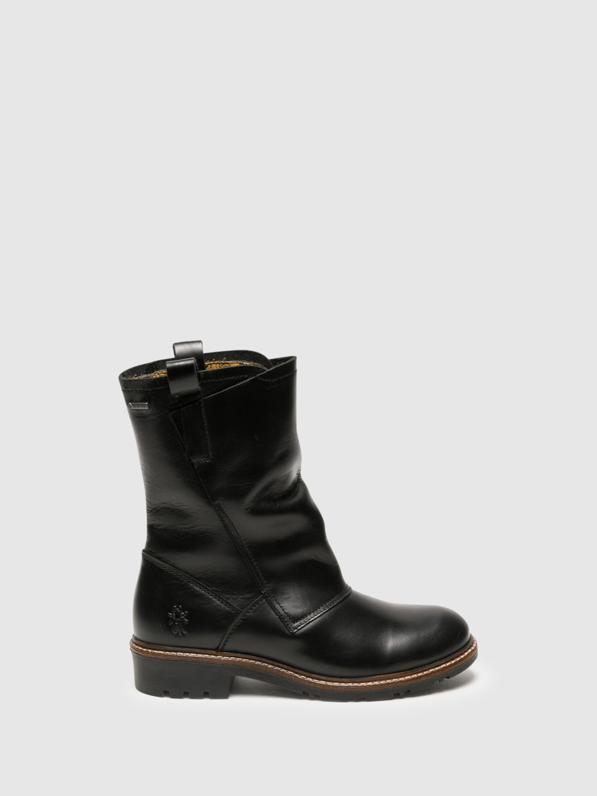 Fly London Botas con Cierree en color Negro