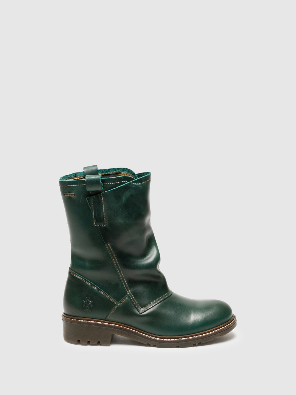 Fly London Botas con Cierree en color Verde