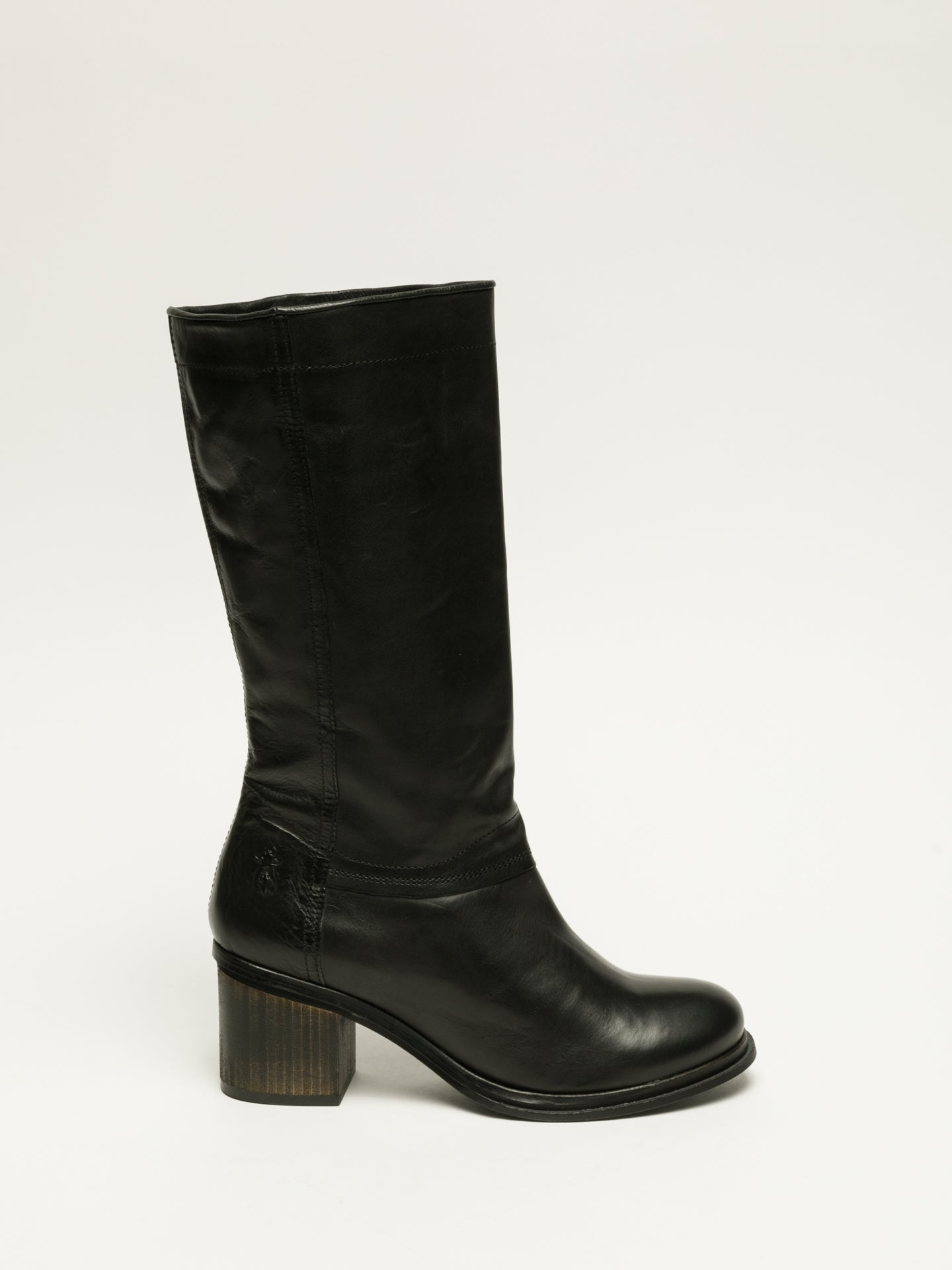 Fly London Botas Altas en color Negro