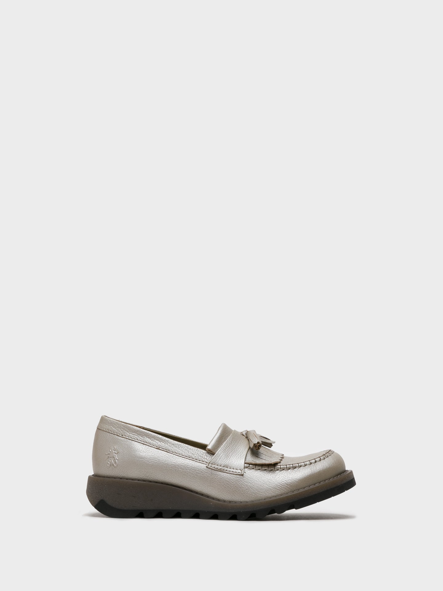 Fly London Zapatos Loafers en color Plata