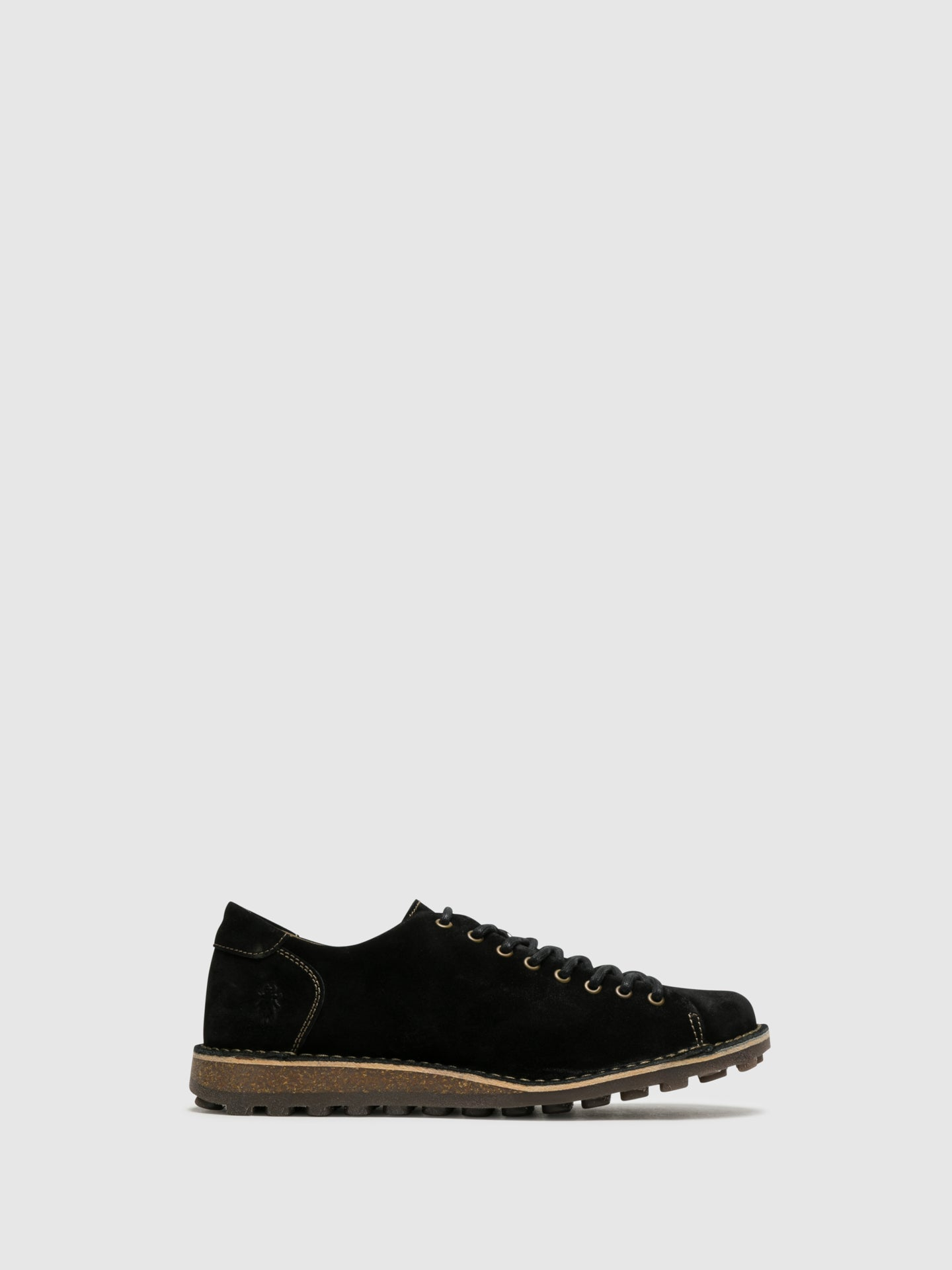 Fly London Zapatos Derby en color Negro
