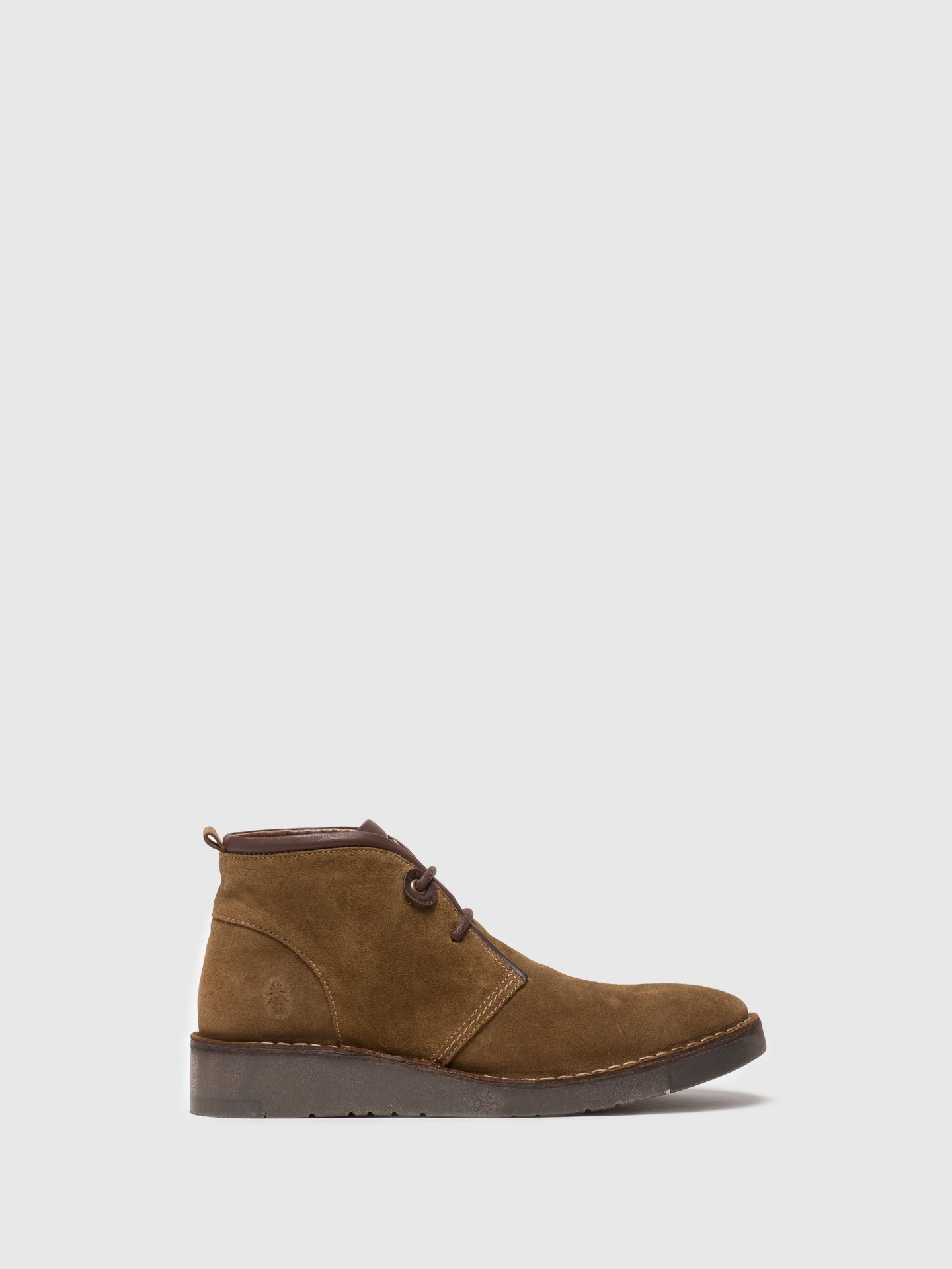 Fly London Botines con Cordones en color Taupe