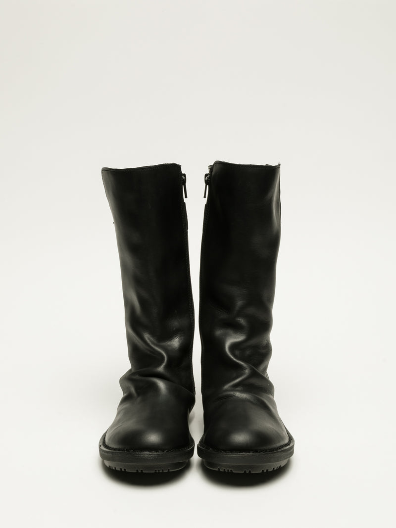 Fly London Botas con Hebilla en color Negro