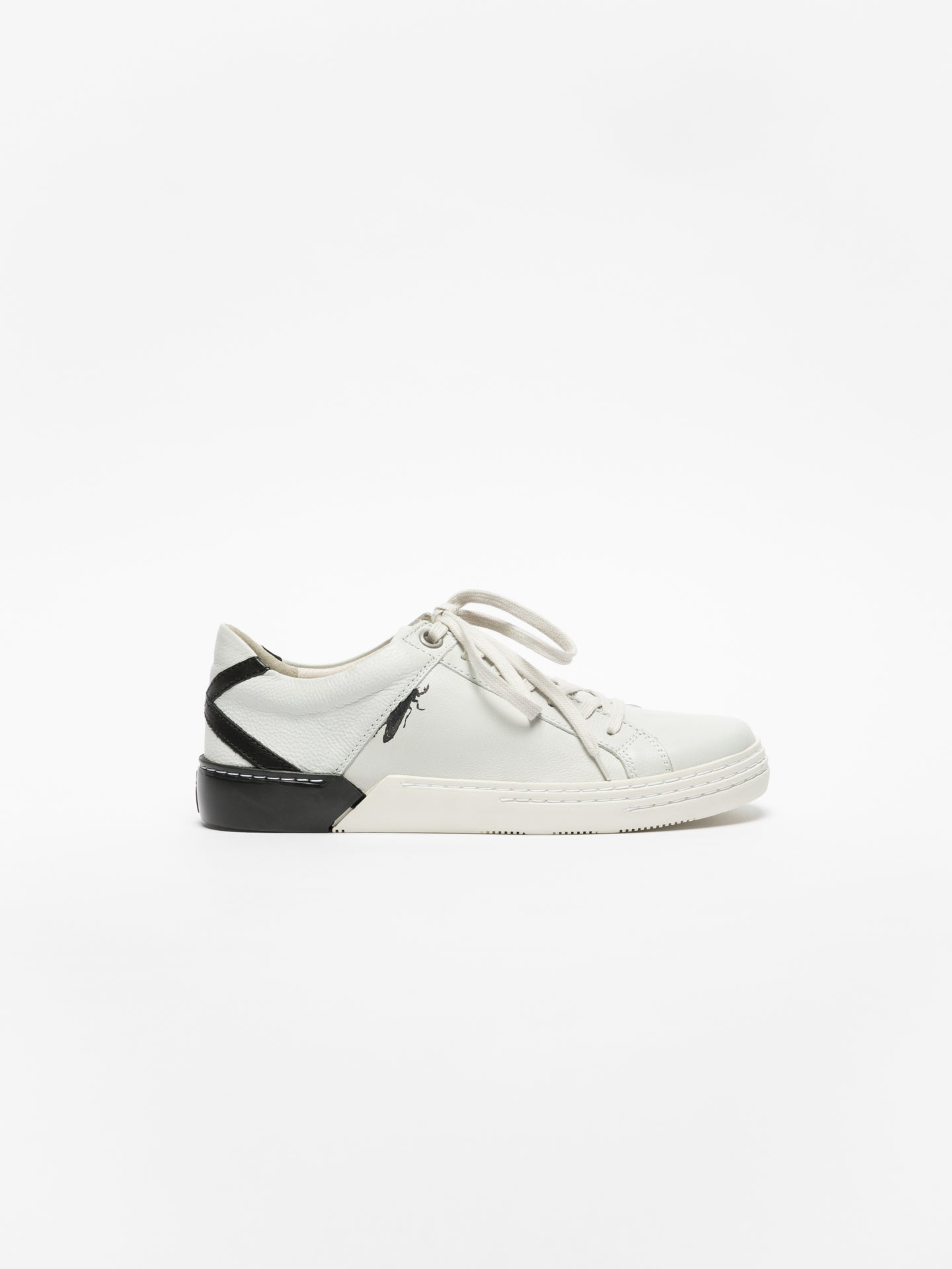 Fly London Zapatillas con Cordones en color Blanco