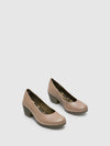 Fly London Zapatos con Punta Redonda en color Beige