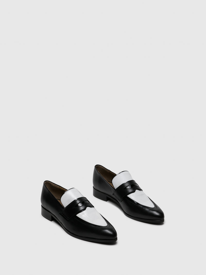 Zapatos Loafers en color Ante Negro
