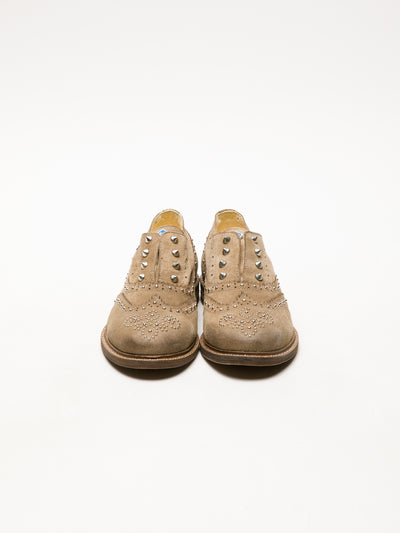 Lazuli Zapatos Oxford en color Taupe
