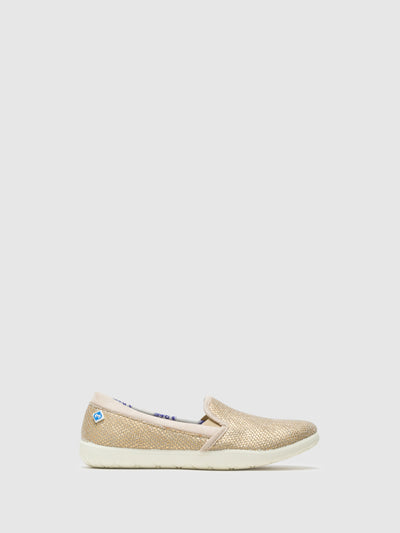 Lazuli Zapatillas con Estilo Slip-on en color Beige