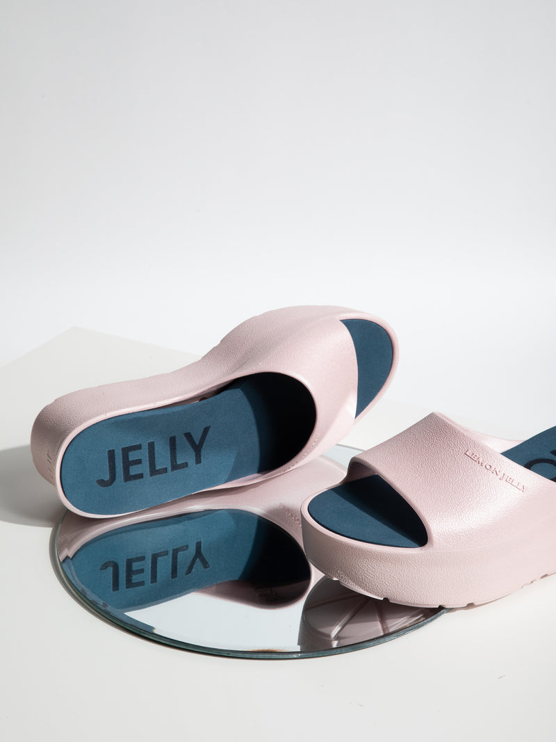 Lemon Jelly Sandalias de Plataforma en color Rosa