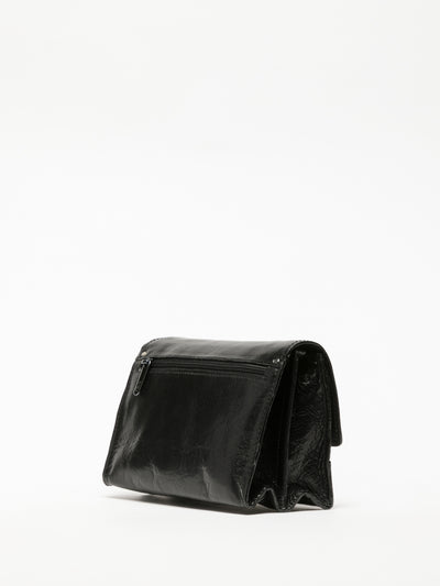 MARTA PONTI Clutch en color Negro