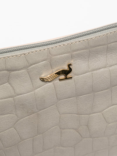 MARTA PONTI Clutch en color Taupe