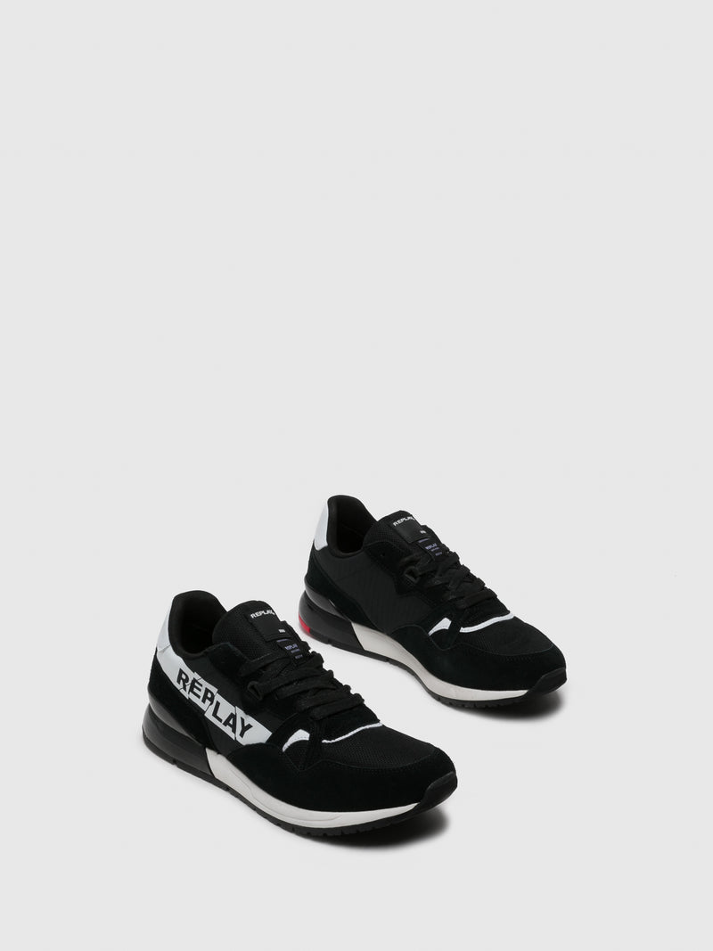 Replay Zapatillas con Cordones en color Negro