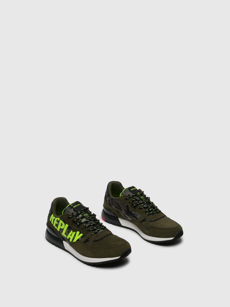 Replay Zapatillas con Cordones en color Verde