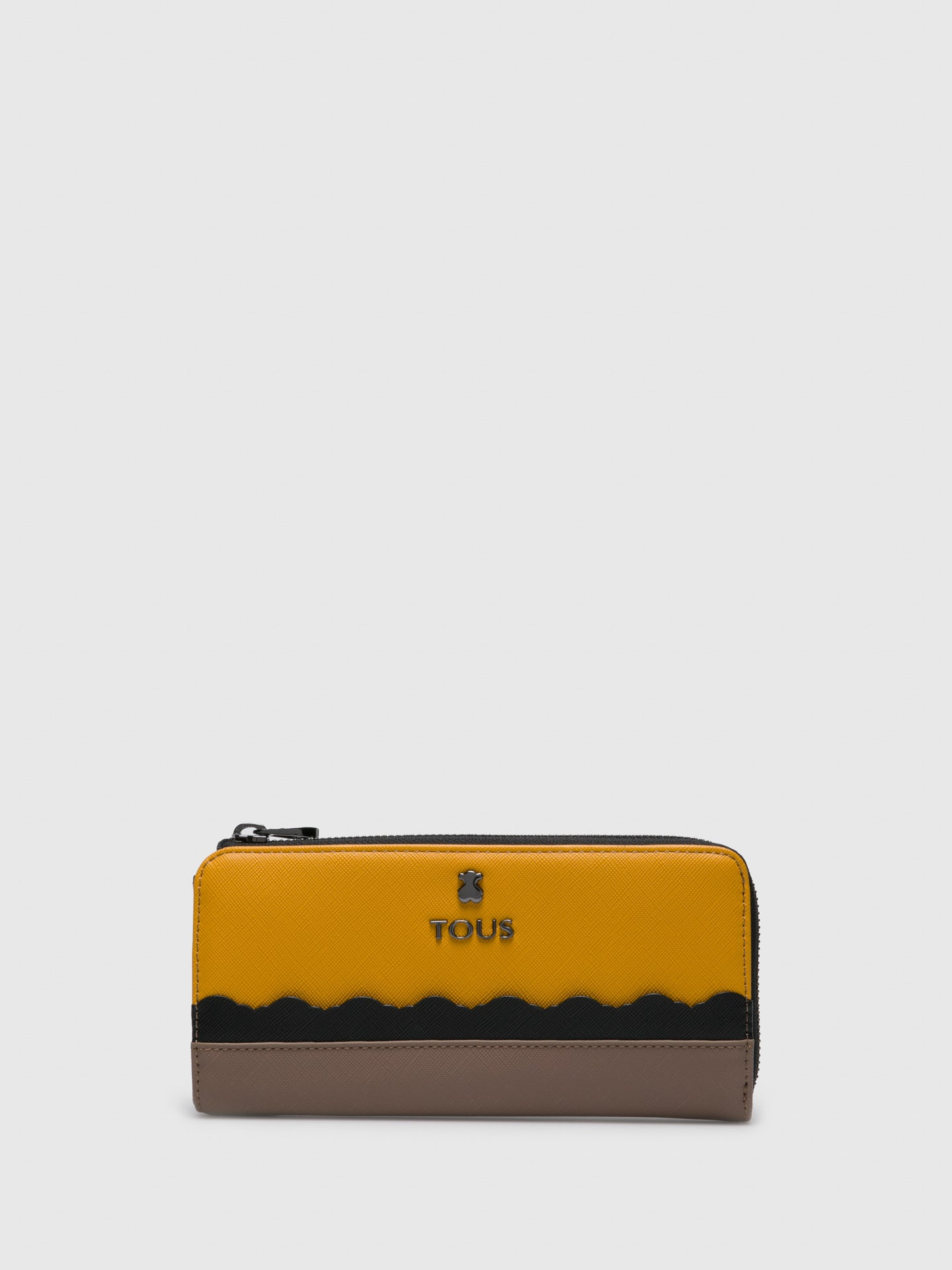 TOUS Cartera en color Amarillo Negro