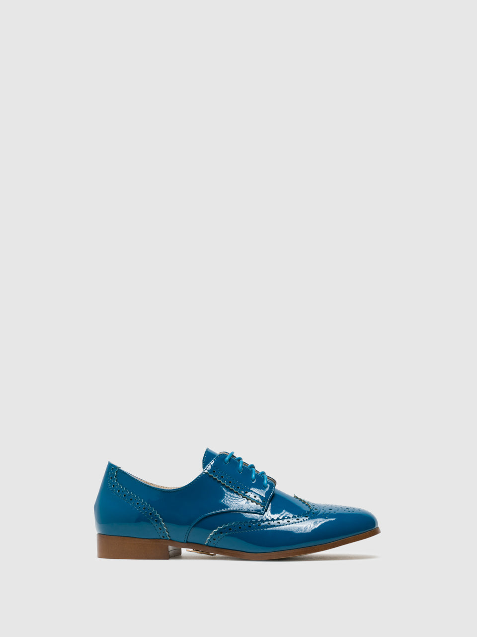 Yull Zapatos Oxford en color Azul Marino