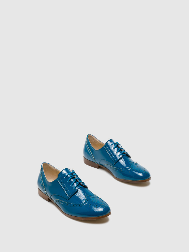 Zapatos Oxford en color Azul Marino