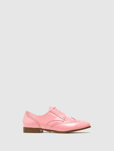 Yull Zapatos Oxford en color Coral
