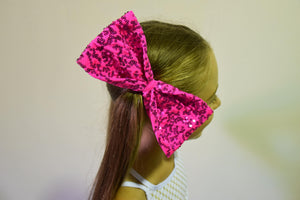 Sequin Hair Bows
