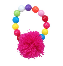 Load image into Gallery viewer, Pom Pom Party Bracelet