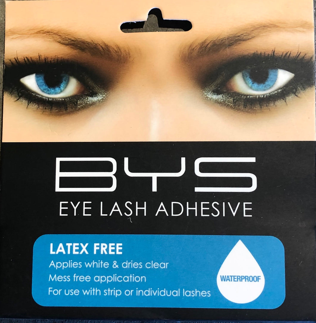 Latex free eyelash glue