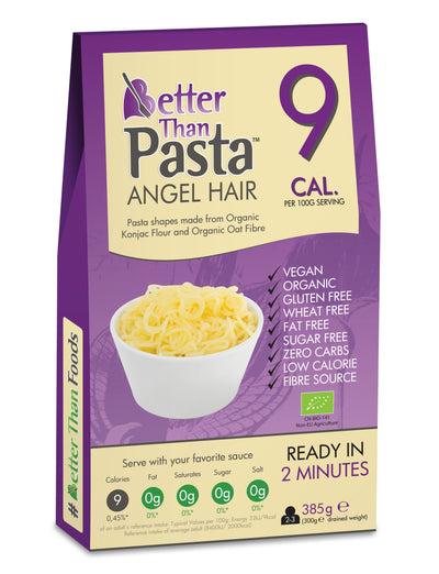 Organic Better Than Pasta Angel Hair 385g