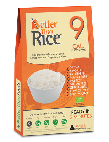 Organic Better Than Rice 385g