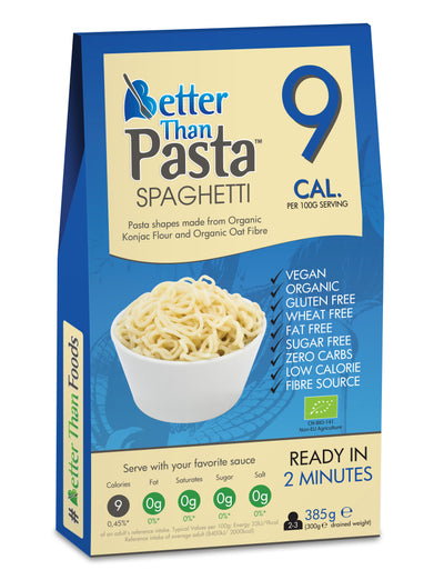 Organic Better Than Pasta Spaghetti 385g