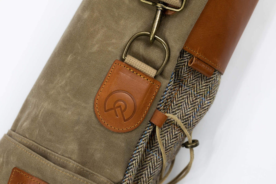 SEAMUS GOLF |THE SUNDAY BAG HARRIS TWEED