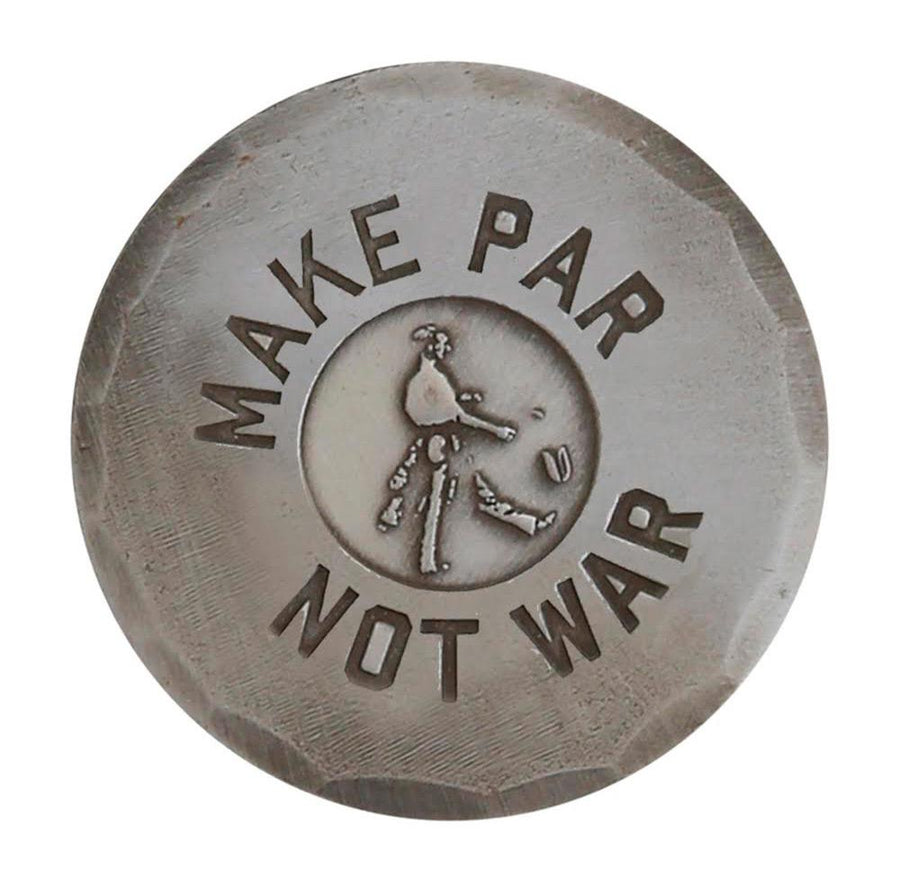 Seamus | Make Par Not War Hand Forged Ball Marker