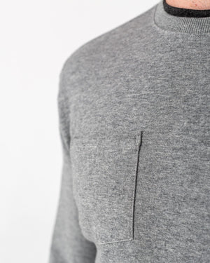 LS490 | Pocket Crewneck Sweatshirt