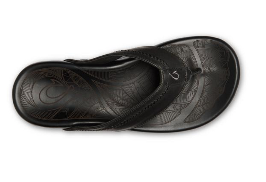 OluKai | Hiapo Leather Beach Sandals