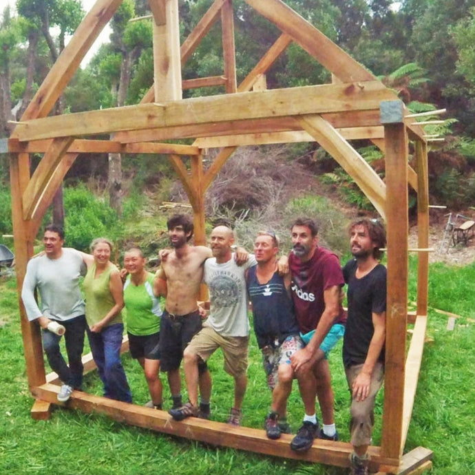 Latest Timber Frame Tiny House Workshop Success!