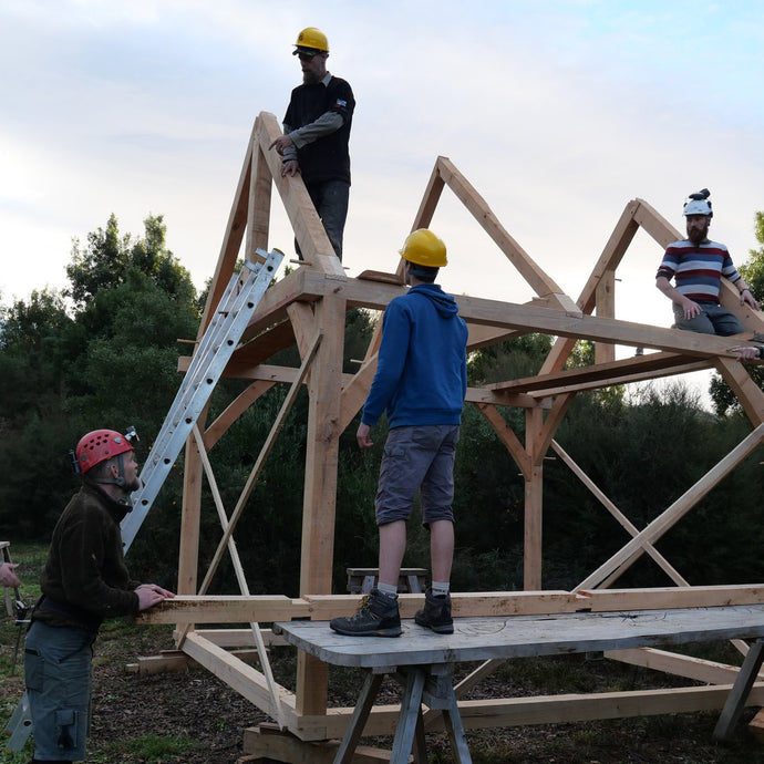Traditional Timber Frame Joinery Course - Build a Tiny Space: