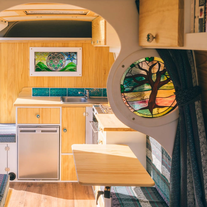 Gorgeous Conversion by the talented Campervan Craftsman