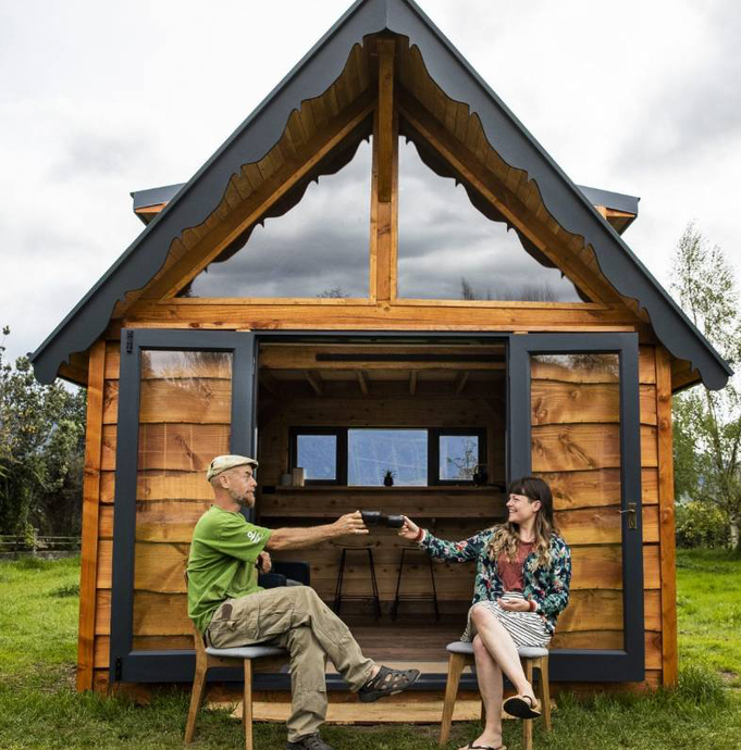 Media Feature: Takaka tiny house builders use traditional techniques