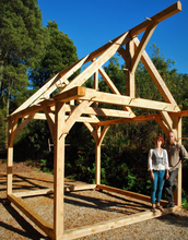 Load image into Gallery viewer, LEARN TO TIMBER FRAME - TEAM BUILDING EXPERIENCE
