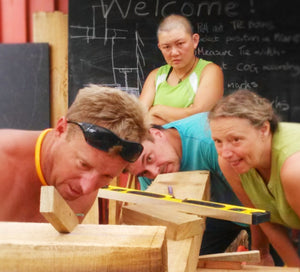 TIMBER FRAMING COURSE