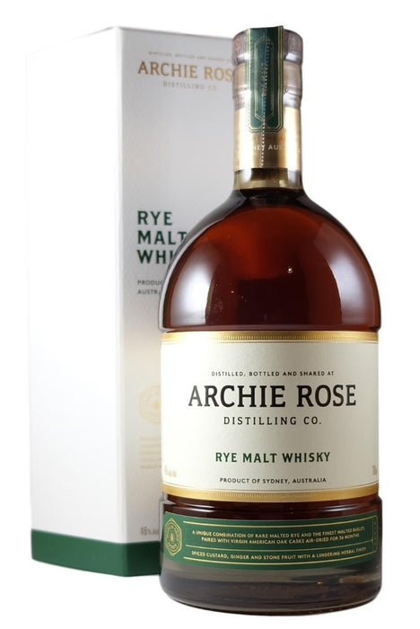 Archie Rose, Rye Malt Whisky (700ml)