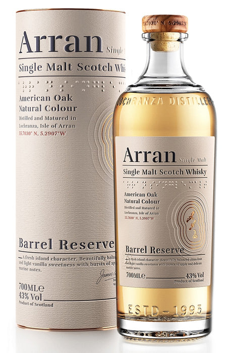 Arran, Barrel Reserve Single Malt (700ml)