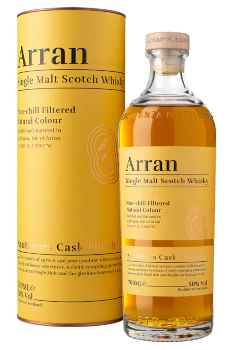 Arran, Sauternes Cask Finish Single Malt (700ml)