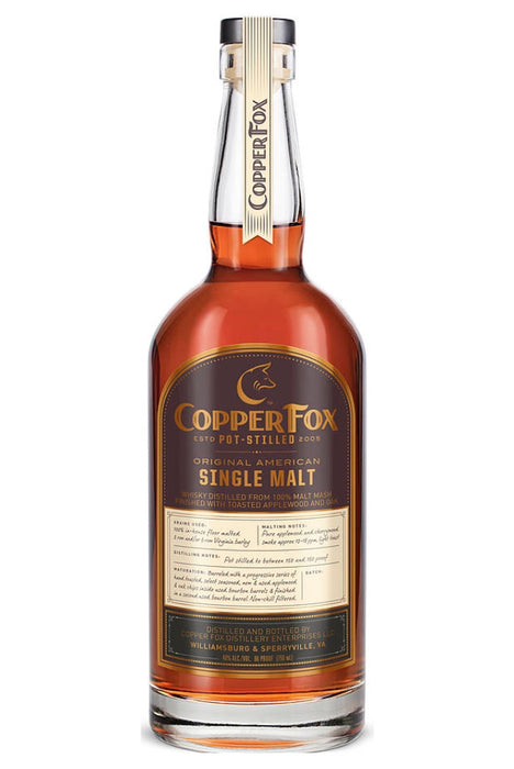Copper Fox, Original Single Malt (750ml)