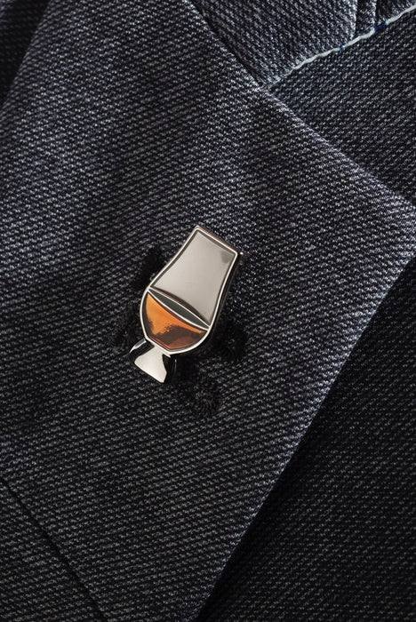 Glencairn, Whisky Glass Lapel Pin
