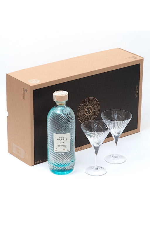 Isle of Harris, Gin Martini Gift Set (700ml)