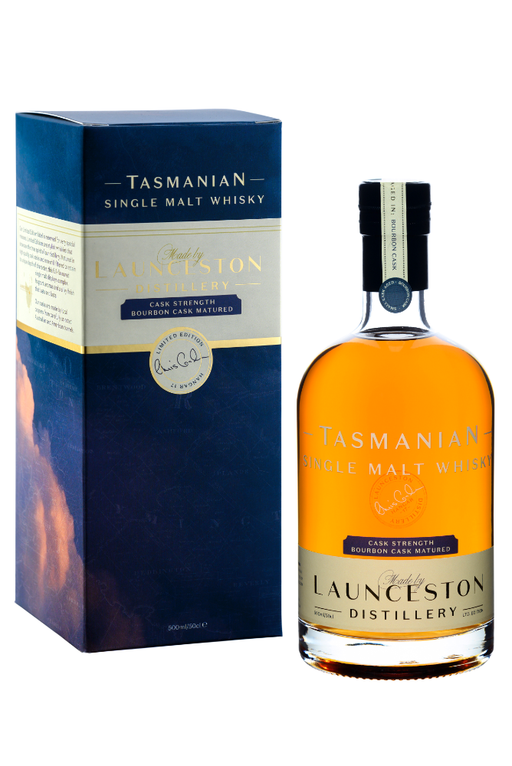 Launceston Distillery, Bourbon Cask, Cask Strength (500ml)