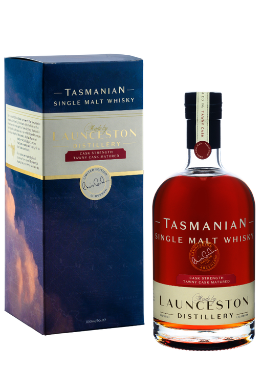 Launceston Distillery, Tawny Cask, Cask Strength (500ml)