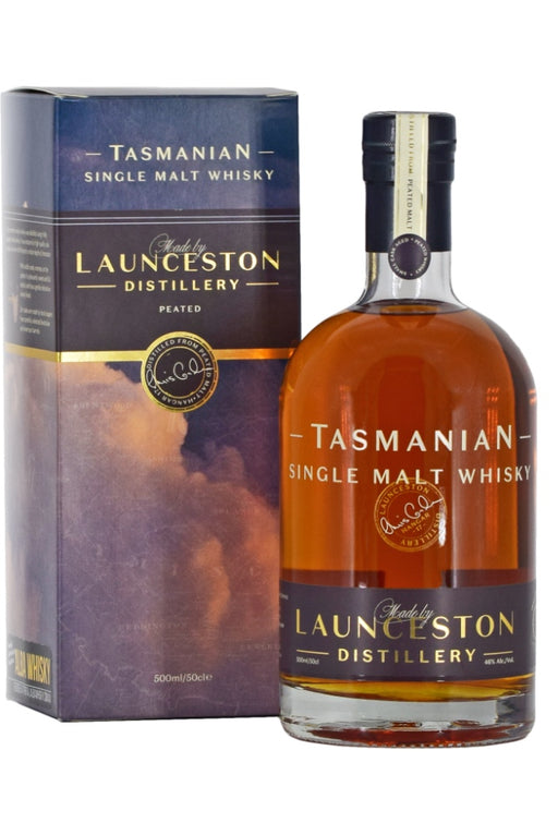 Launceston Distillery, Peated Single Malt (500ml)