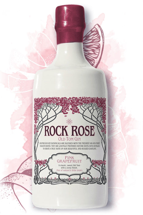 Rock Rose, Old Tom Pink Grapefruit Gin (700ml)