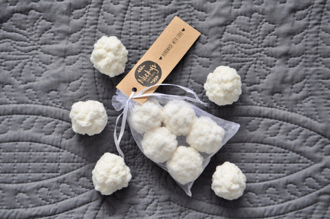 Handmade Reusable Cotton Balls