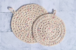 Meadow Hot Pad Set of Two