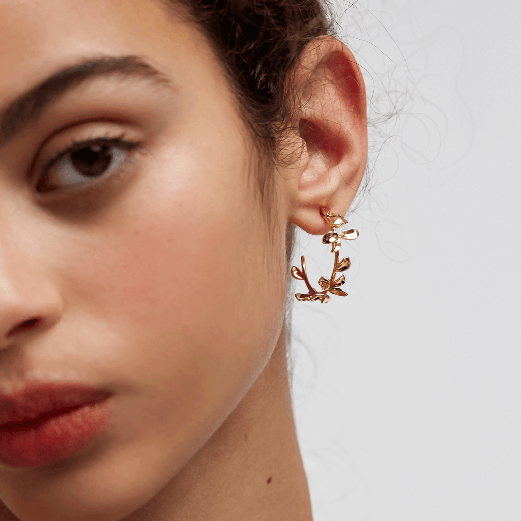 PDPAOLA - Lily gold earrings